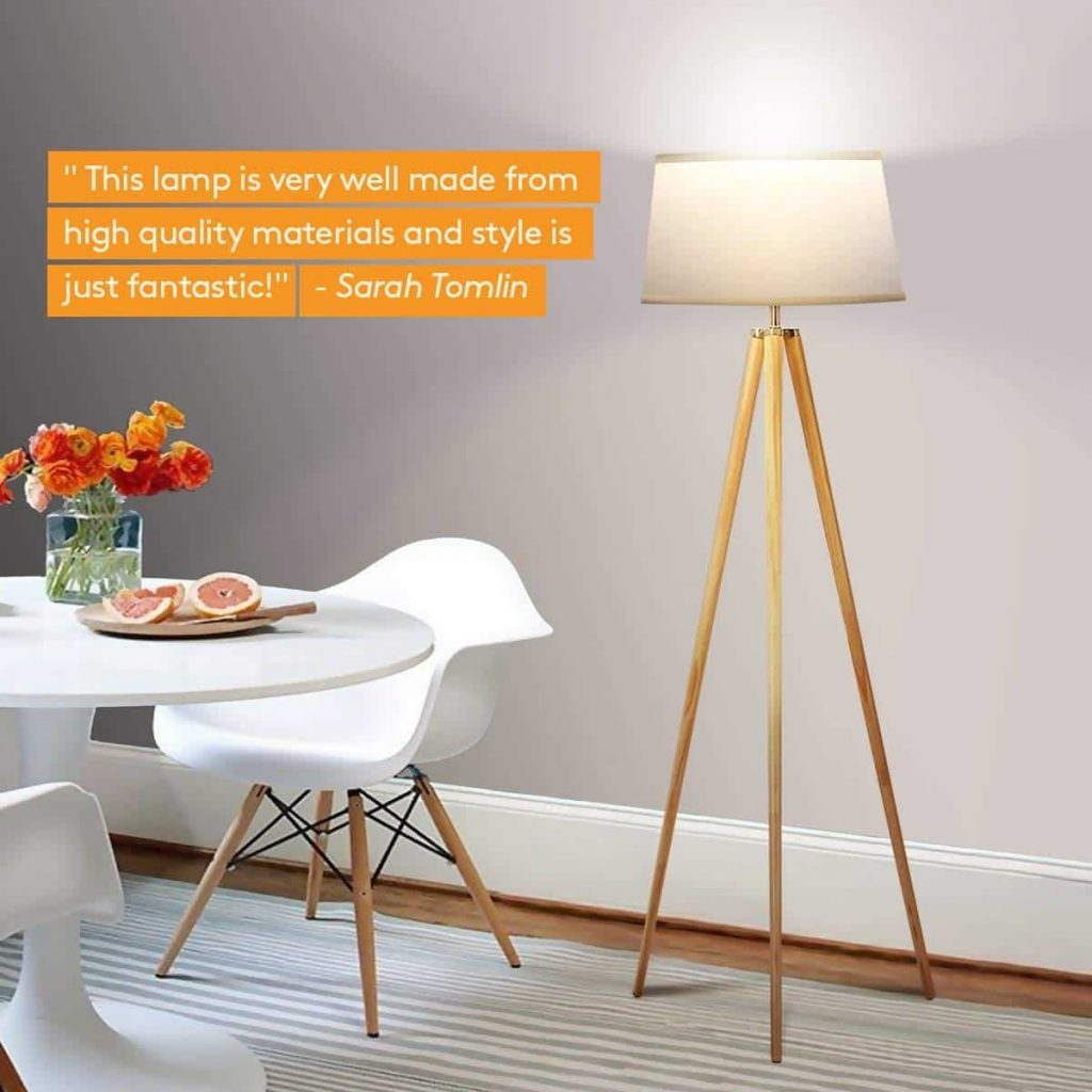 Brightech Emma Floor Lamp
