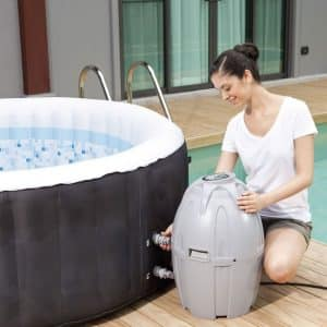Coleman-71 x 26-Inches Portable Hot-Tub