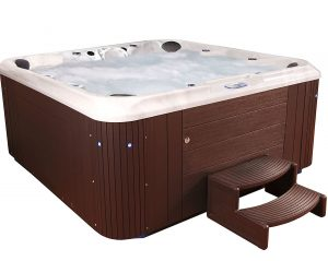 Essential Hot-Tubs SS304817003 Sanctity-Cabinet Hot-Tub