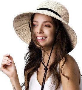FURTALK Wide Brim Sun Hat