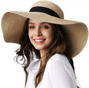 FURTALK Women's Sun Straw Hat
