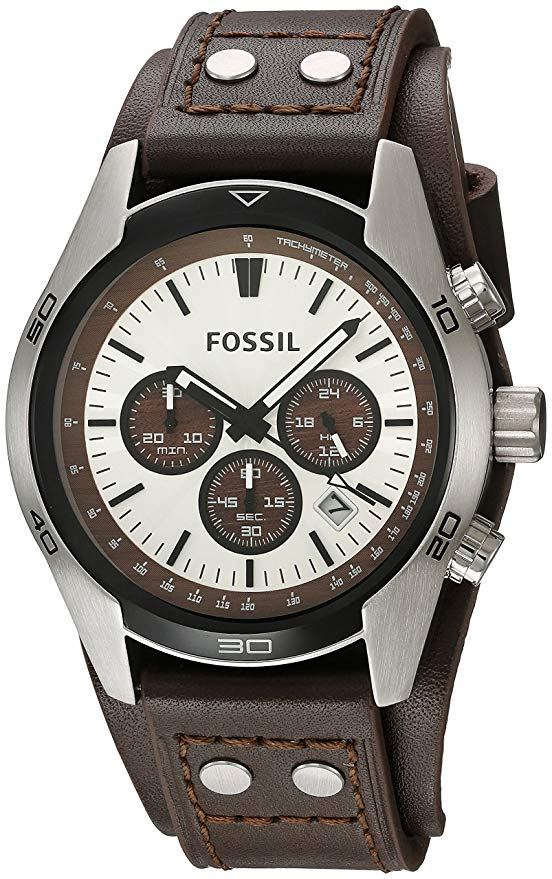Fossil CH2565 Leather Watch