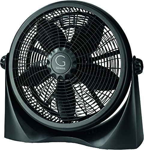 Genesis Adjustable Table Fan or Floor Fan