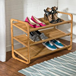 Honey-Can-Do SHO-01599 3-Tier Shoe Shelf
