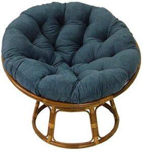 International Caravan Papasan Chair with Cushion