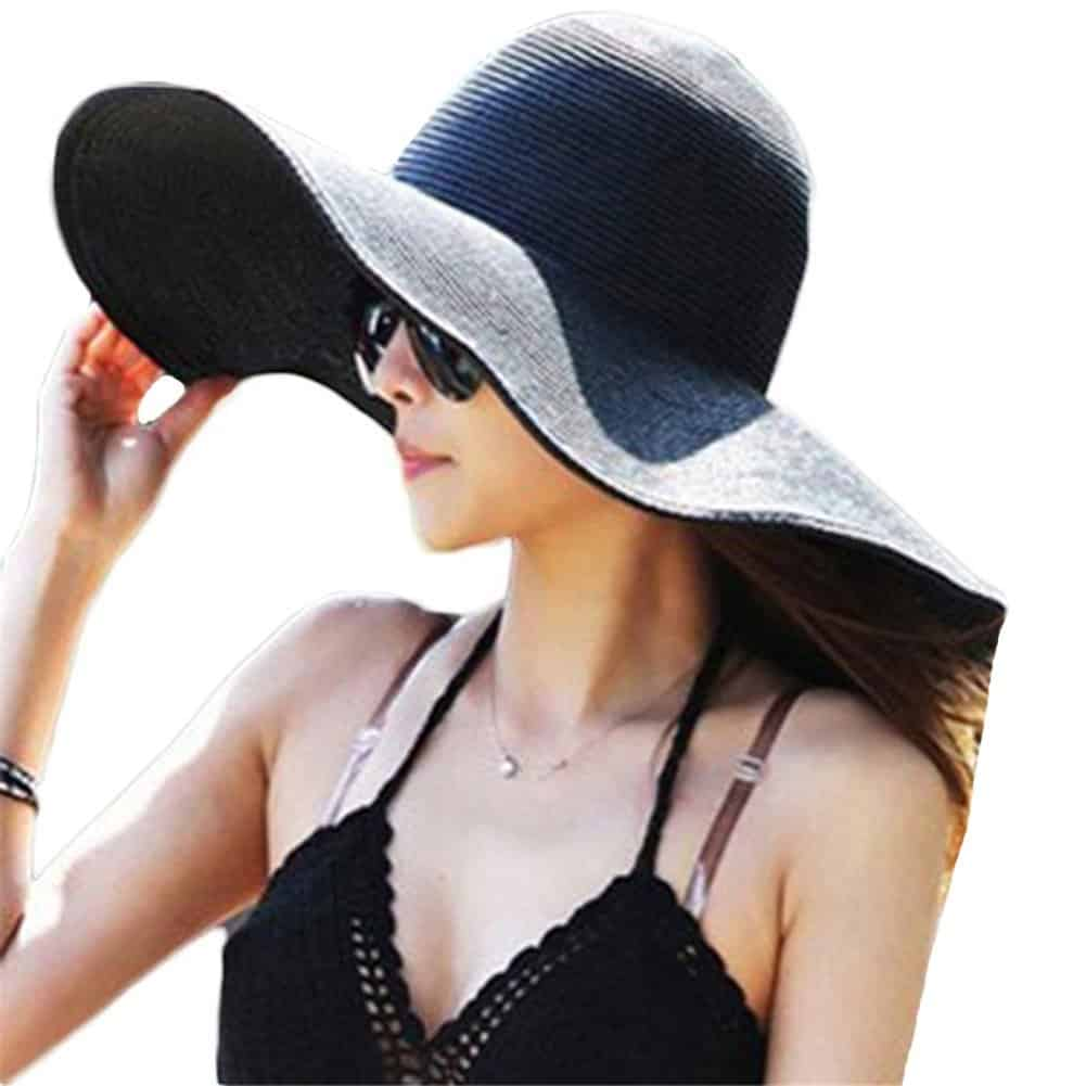 Itopfox Women's Beachwear Sun Hat