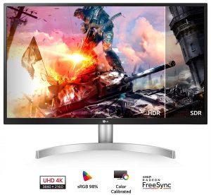 LG 27UL500-W UHD IPS Monitor