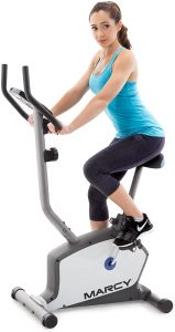 Marcy Upright Exercise Bike with Adjustable Seat