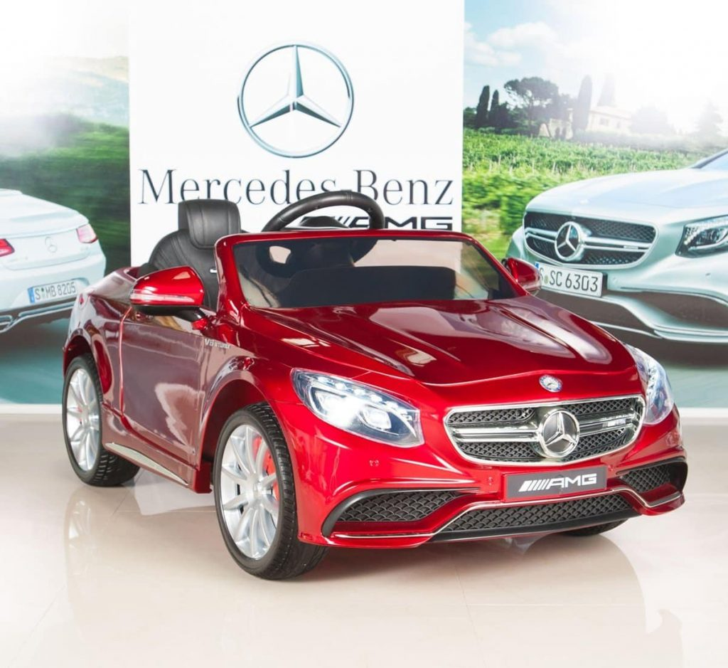 Mercedez Benz Ride on Car with Remote Control