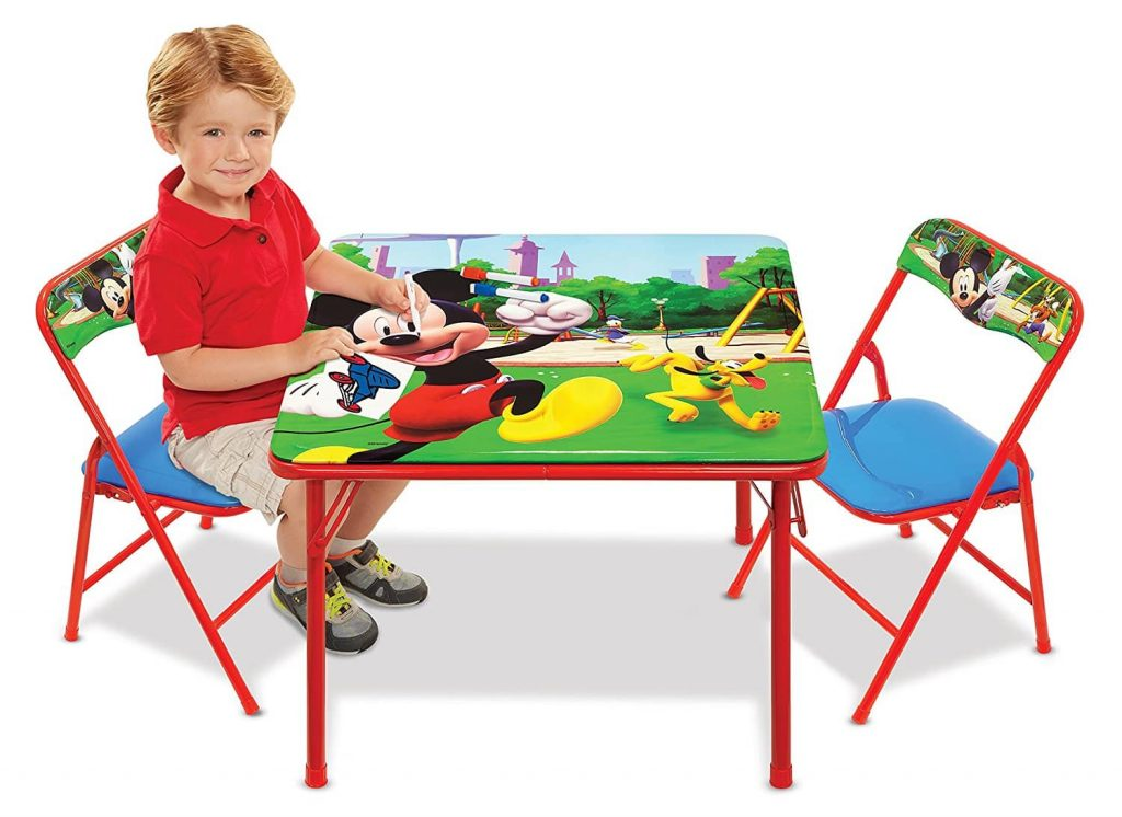 Mickey Mouse Club House Activity Table1