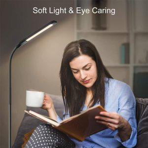 Miroco LED Floor Lamp with 4 Brightness Levels For Reading