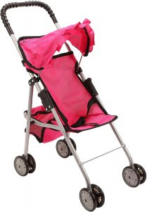 Mommy and Me My First Baby Doll Stroller