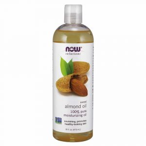 NOW Sweet-Almond Oil, 16-Ounce