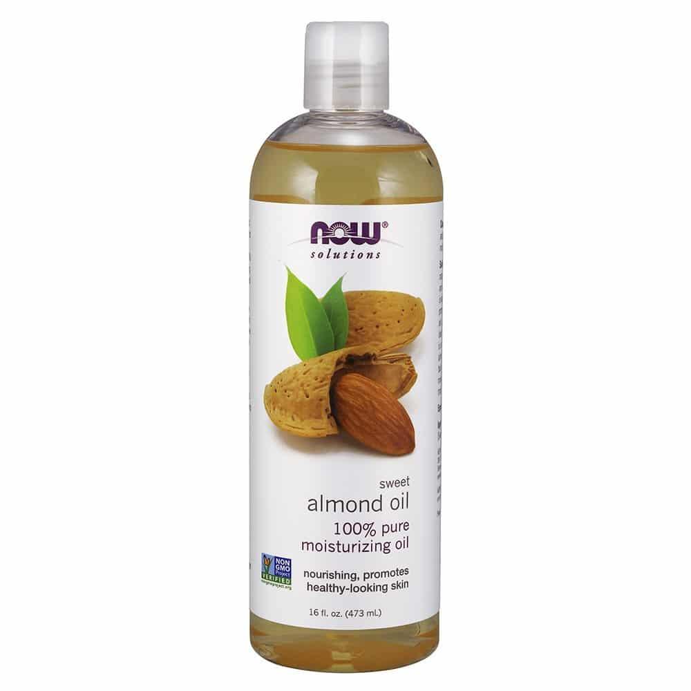 NOW Sweet-Almond Oil, 16-Ounce