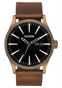Nixon Sentry Leather Classic Men's Watch