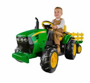 Peg Perego John Deere Tractor with Trailer