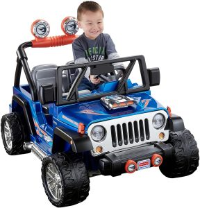 Power Wheels, Hot Wheels Wrangler 12v Jeep