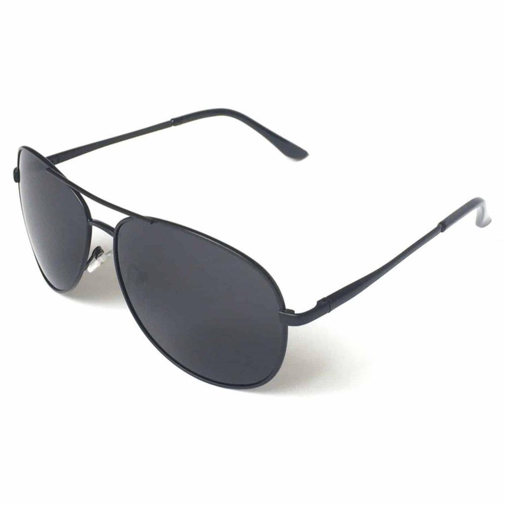 Premium Military Style Classic Aviator Sunglasses, 100% UV protection