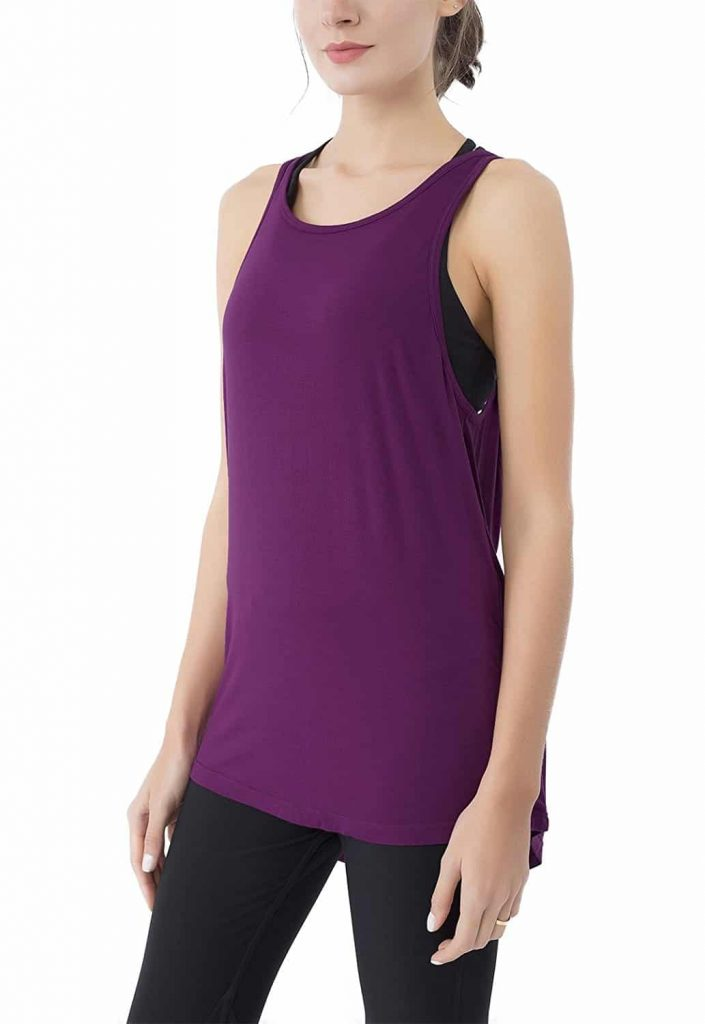 Quuenie Cowl back top tank