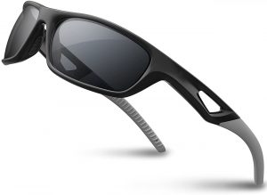 RIVBOS Polarized Sports Sunglasses