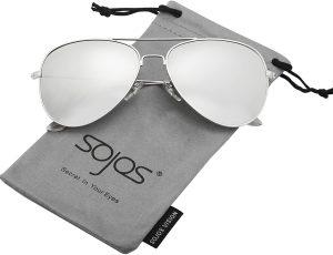 SOJOS Classic Aviator Polarized Sunglasses
