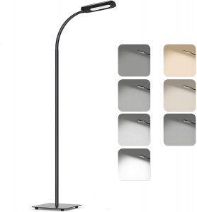TECKIN Adjustable Floor Lamp With 4 Level Brightness