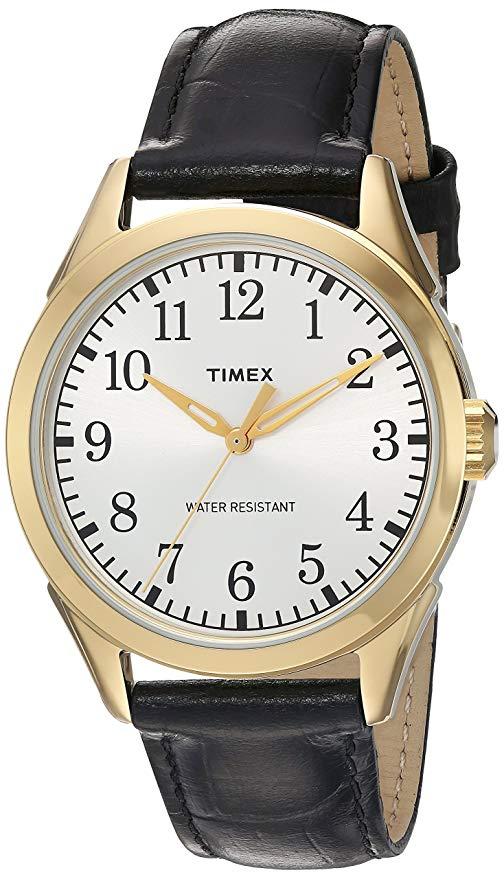 Timex Men's Briarwood Leather Watch