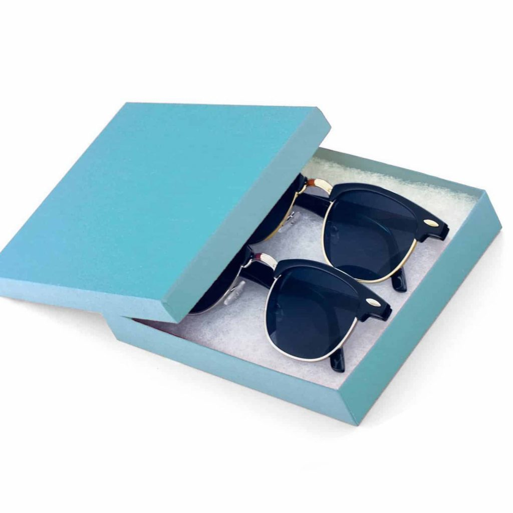Vintage Inspired Classic Half Frame Horned Classic Sunglasses