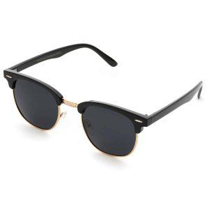 WearMe Pro - Classic Half Frame Polarized Sunglasses