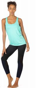 icyzone Yoga Top Workout Tank Top