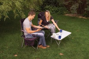 4-In-1 Pack-Away Camping Table from Coleman