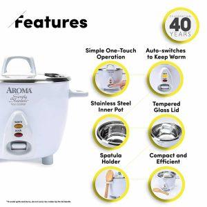 Aroma ARC-753SG Rice Cooker