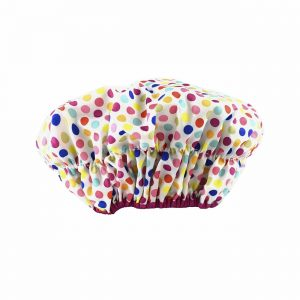 Betty Dain Fashionista Reusable Lined Shower Cap