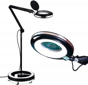 Brightech LightView Base Magnifying Floor Lamp