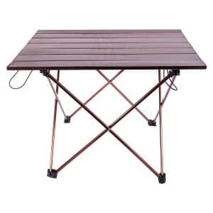 Himal Portable Picnic Roll Up Ultralight Aluminum Folding Camping Table