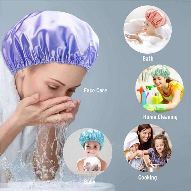 Reusable Shower Caps for Women