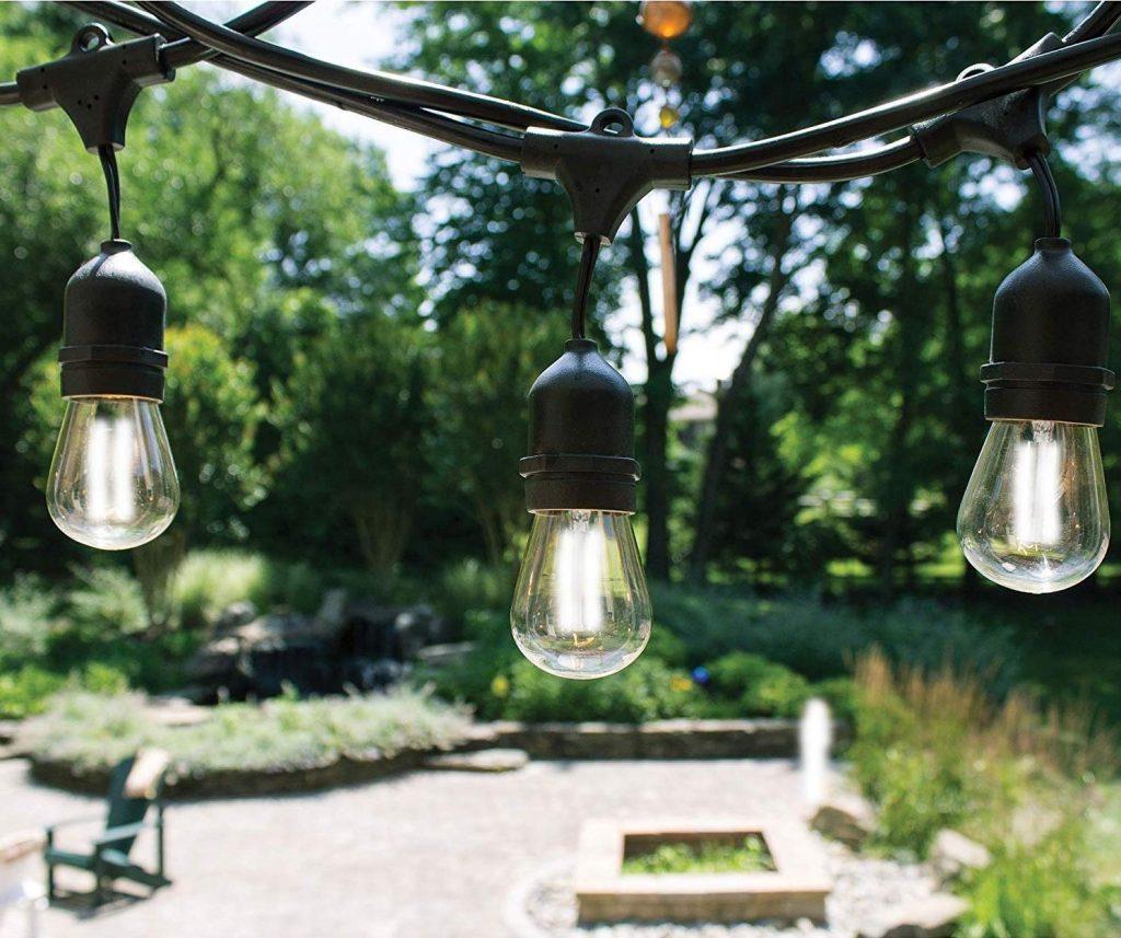 48 Ft LED Outdoor String Lights