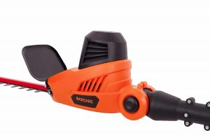 Corded Pole Hedge Trimmer by GARCARE