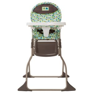Cosco Simple Fold Baby High Chair (Elephant Squares)