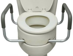 Essential Medical Supply raised toilet seat