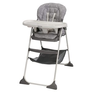 Graco Slim High Chair | Ultra-Compact, Whisk