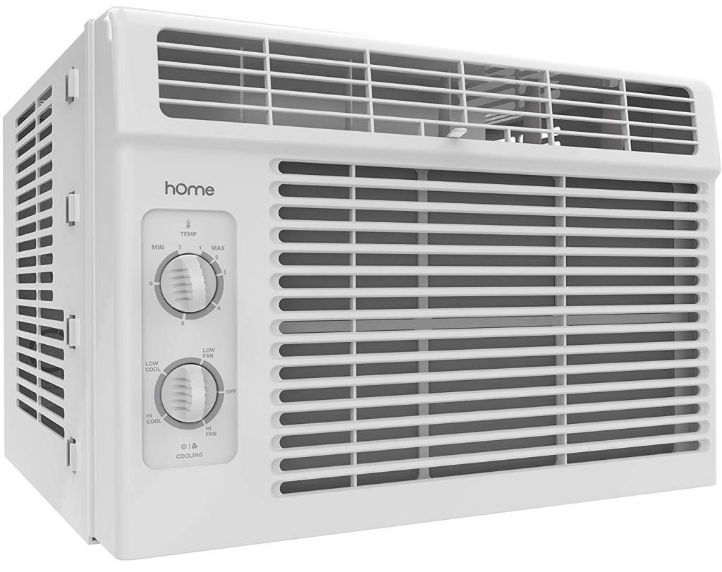 HOmeLabs 5000 BTU, 7 Speed Fan