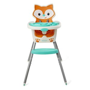 Infantino 4-in-1 Toddler Chair with a Dishwasher-Safe Tray