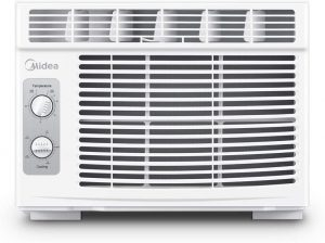 MIDEA MAW05M1BWT White 5000 BTU Window air conditioner