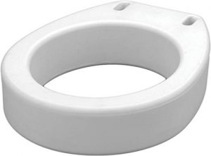 Nova raised toilet seat
