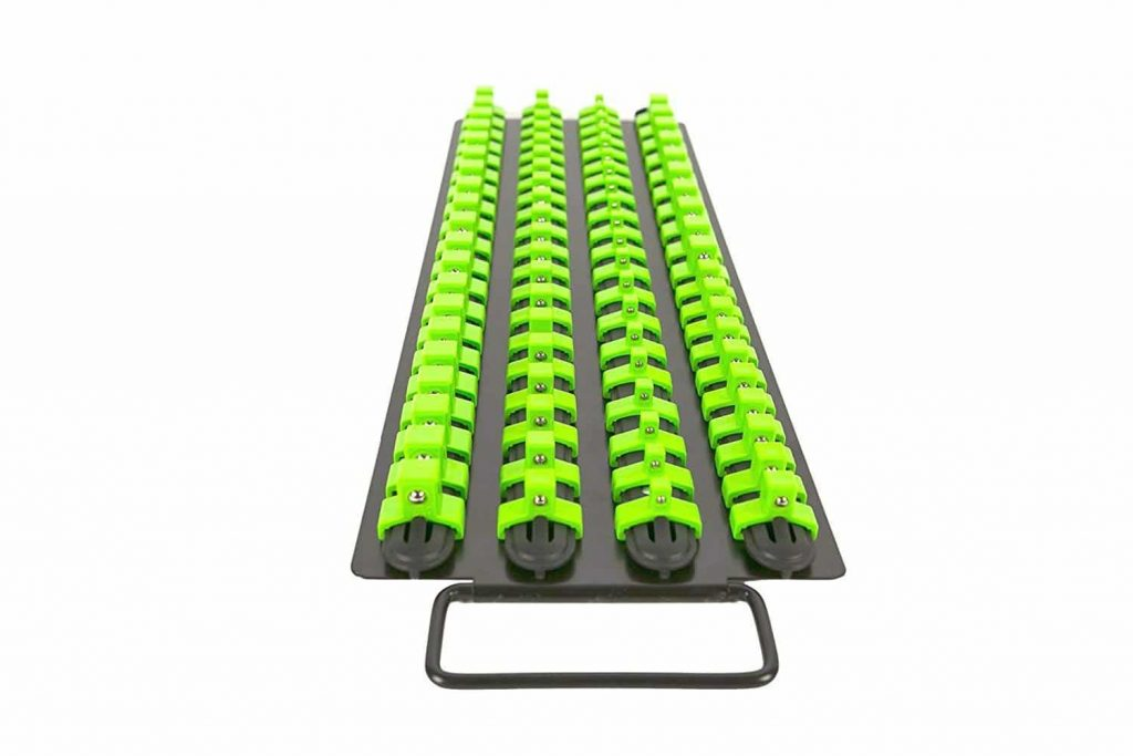 Olsa Tools Socket Organizer Tray for 80 Sockets