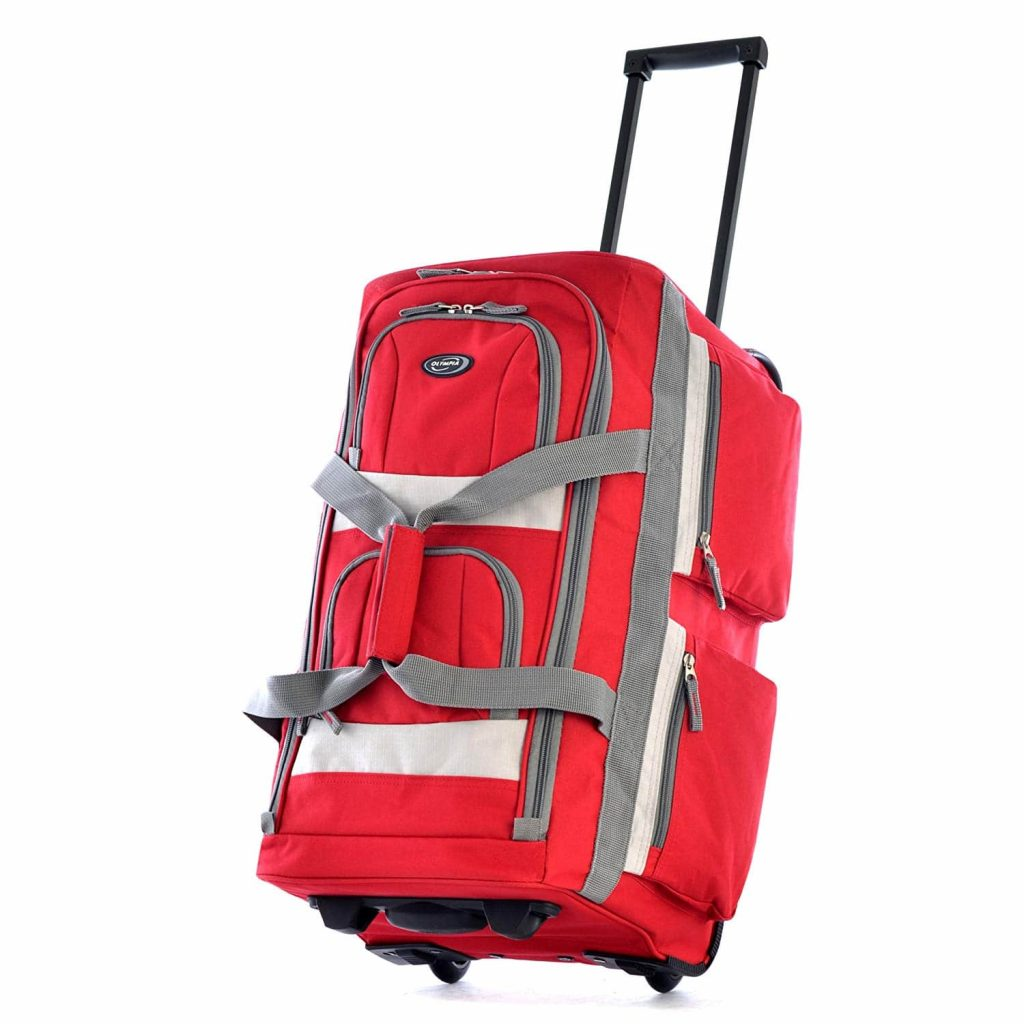 Olympia Luggage 8 Pocket 22-inches