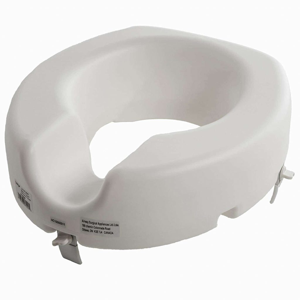 PCP raised toilet seat