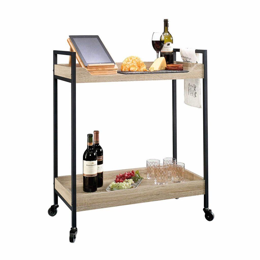 Sauder 420043 Bar Cart North Avenue