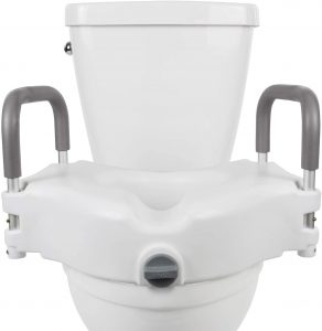 "Vive Raised Toilet Seat - 5"" Portable"